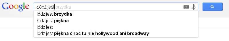 Łódź Google