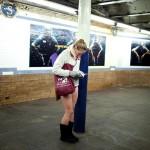 Bez spodni w metrze