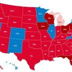 Wybory prezydenckie w USA – jak głosowały miasta
