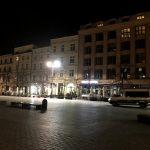 Puste centrum Krakowa